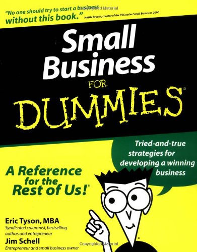 Small Business For Dummies? (For Dummies (Lifestyles Paperback))