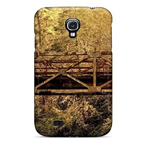 Anti-scratch And Shatterproof Nature Forest Railway Bridge In The Woods Phone For Case Samsung Note 3 Cover High Quality PC Case