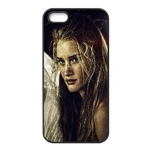 iPhone 5 5s Cell Phone Case Black hf62 madmax rosie huntington whiteley film girl LV7042151