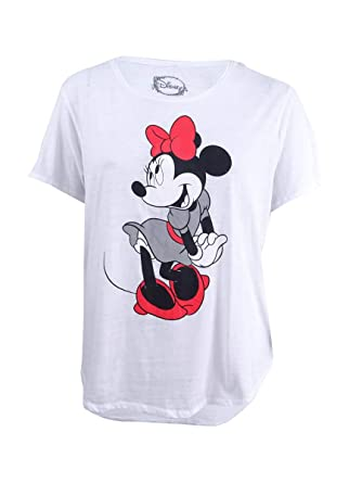 04436a9f20e Freeze 24-7 Trendy Plus Size Cotton Minnie Mouse Graphic T-Shirt (1X ...