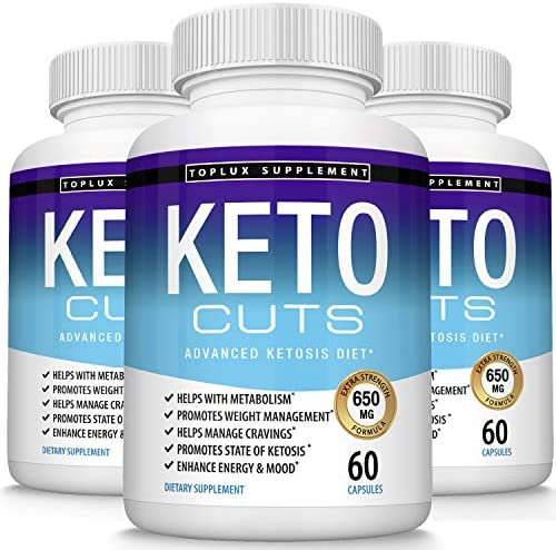 Keto Cuts Pills Ketosis Diet – Utilize Fat for Fuel to Support Energy Focus, Manage Cravings, Metabolism Support Using Ketogenic Diet, Keto Diet Pills, Men Women, 60 Capsules, Lux Supplement