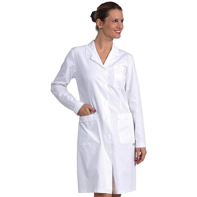 Camice Medicale da Donna Bianco - 100% Cotone - Marca Italiana - Modello  Femminile Sciancrato cebd85c79144