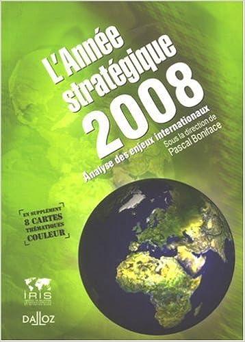Livre L'année stratégique : Stratéco : analyse des enjeux internationaux pdf, epub ebook
