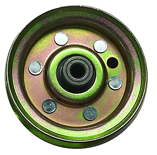 Prime Line 7-05266 Flat Idler Pulley with Flange Replacement for Model AYP/Sears/Roper 131494