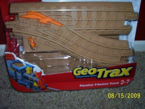 GeoTrax Parallel Y-Switch Tracks