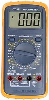 lā Vestmon Multimetro per Auto Multimetro Digitale Classico DT5811 Angolo di Chiusura misurabile Angolo di accensione velocità del Motore Temperatura del Cilindro