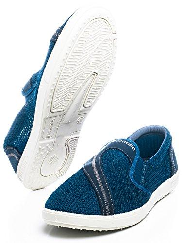 Paolla Mens 117 Slip-ONS Shoes Blue xM8F6U8