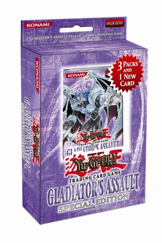- YuGiOh GX Gladiator's Assault SE Special Edition Pack [Random Promo]