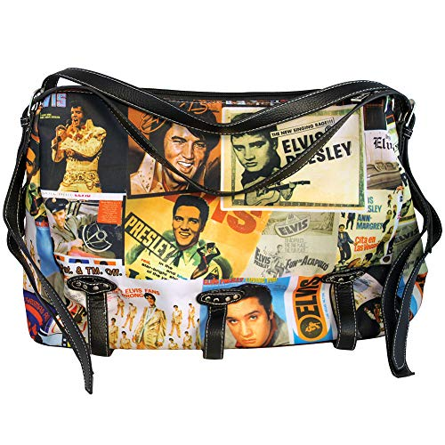 Elvis Presley Shoulder Bag, Collage
