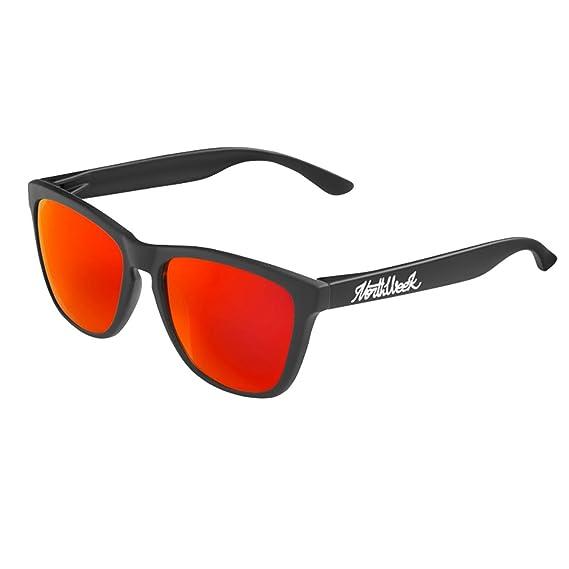 Gafas de sol Northweek mate/black lente roja polarizada - UNISEX: Amazon.es: Ropa y accesorios