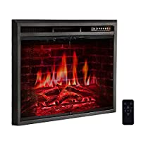 R.W.FLAME Electric Fireplace Insert,Free...