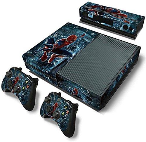 ModFreakz™ Console/Controller Vinyl Skin Set – Swinging Peter Parker for Xbox One Original