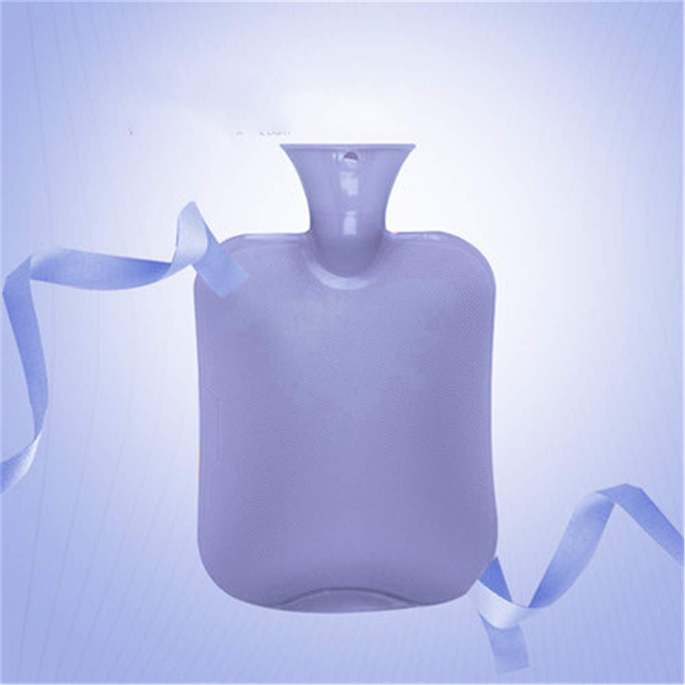 XIANGEN Advanced Classic PVC Hot Water Bottle is Very Suitable for Pain Relief for Hot and Cold Therapy Flushing Water Explosion-Proof Velvet Warm Water Bag 20.534Cm