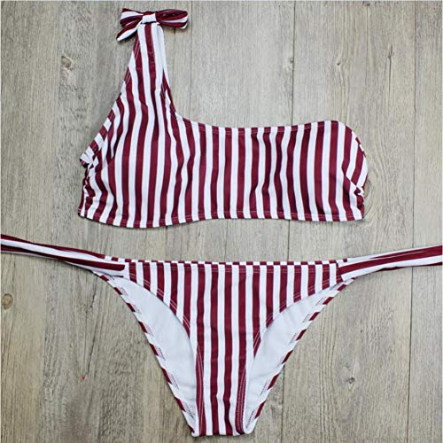 Due Pezzi Costume Bikini Red Da Bagno Costumi Cheng Donna RUzTZnX