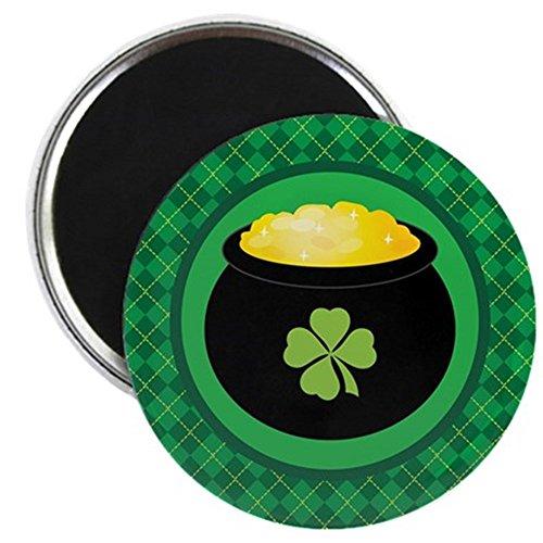CafePress - Leprechaun Gold St Patrick's Day Magnet - 2.25