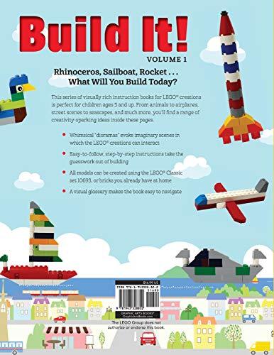 Build It! Volume 1: Make Supercool Models with Your LEGO® Classic Set (Brick Books) by Jennifer Kemmeter (Image #1)