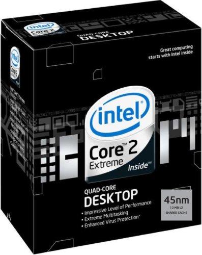 Intel Core 2 Extreme QX9650 Quad-Core Processor, 3 GHz, 12M L2 Cache, 1333MHz FSB, LGA775