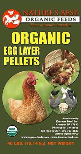 Amazon Natures Best Organic Feed 061002 Organic Egg Layer