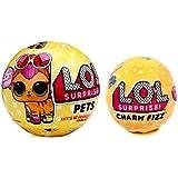 Bundle of Lets Be Friends LOL Surprise Series 3 Pet & Charm Fizz