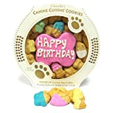 Claudia's Canine Cuisine Pink Birthday Cookie Dog Treat Review