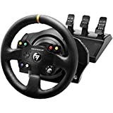 Thrustmaster VG TX Racing Wheel Leather Edition Premium Official Xbox One Racing Wheel for Xbox One and PC