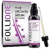 FolliOne Haarwachstums-Serum gegen Haarausfall für Frauen, regeneriert und stärkt das Haar - natürlich und effektiv gegen Haarverlust, 60ml (1-Monatspackung)