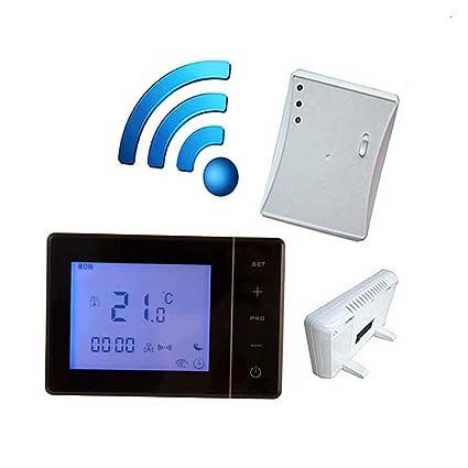 Morza Caldera 433MHZ Gas Wireless Termostato RF de Control 5A Caldera Mural Controller Calefacción Termostato Digital