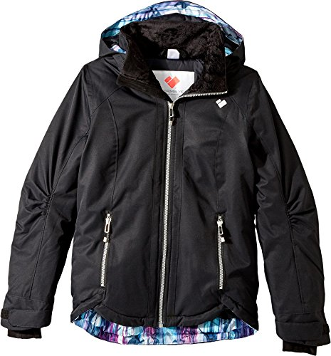 Obermeyer Kids Girl's Kenzie Jacket (Little Kids/Big Kids) Black X-Large by Obermeyer Kids