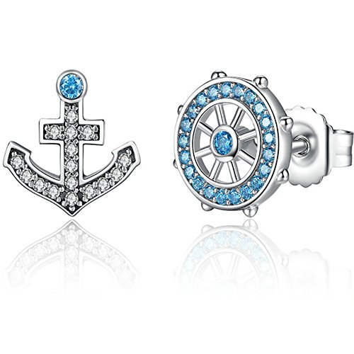 925 Sterling Silver Anchor - 8