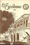 img - for EL ESCRIBANO Volume Nineteen book / textbook / text book