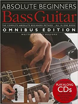 Book Absolute Beginners Bass - Books 1 & 2 With Cd