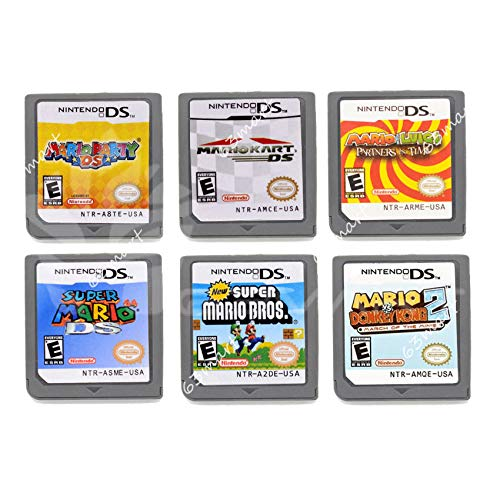 FidgetFidget Random ONLY 1PC for Mario Game Card Child Children Gift for DS NDS DSI 3DS US Version for Mario Kart DS ()