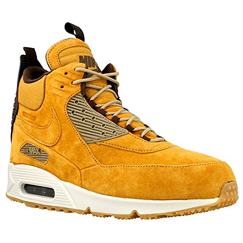 Nike air max 90 Sneakerboot Winter Mens hi top Trainers 684714 Sneakers Shoes (US 10, Bronze Black Bamboo 700)