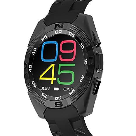 No.1 G5 MT2502 240 * 240 380 mAh Bluetooth 4.0 Heart Rate Smart ...