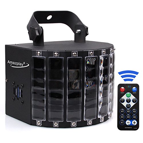 AmazPlay Stage Lighting Club Party Dance DJ Disco Lights with 27W 9 Colors Effect by Remote Control
