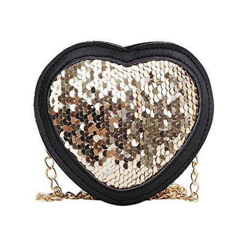 Women Heart-shaped Wild Messenger Bag Fashion One-Shoulder Small Square Bag,Outsta 2019 New Arrival Fashion Bags