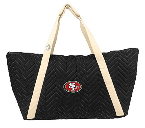NFL San Francisco 49ers Chev-Stitch Weekender Tote by Littlearth