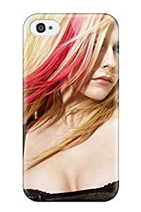 La Angel Nelson Scratch-free Phone Case For Iphone 4/4s- Retail Packaging - Celebrity Avril Lavigne