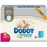 Dodot Sensitive - Pañales para bebé, talla 2 - 34 Pañales