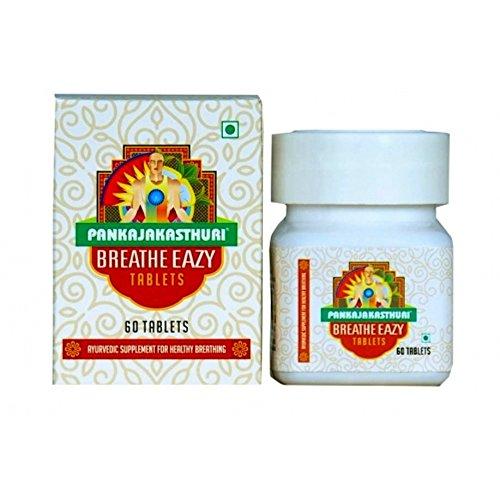 PANKAJAKASTHURI Breathe Eazy 60 Tablet - Free Shipping by BREATHEASY