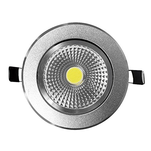 pretty nice 0f10b 533e9 GWS® Commercial Chrome Surface 7W LED COB Downlight Spot Light Warm White,  LED Driver Included