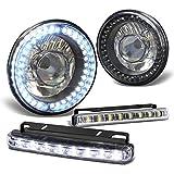 7 inch round headlight housings - Pair of H6024 7