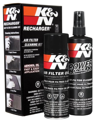 K&N 99-5000 Aerosol Recharger Filter Care Service Kit (Best Automotive Air Filter)