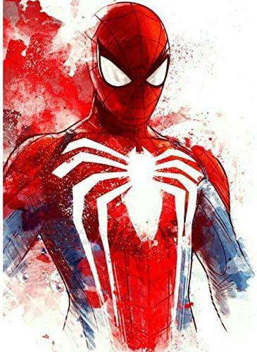No glue Marvel Spider Man Folding Cutting Cute 3D Paper Model ... | 500x372