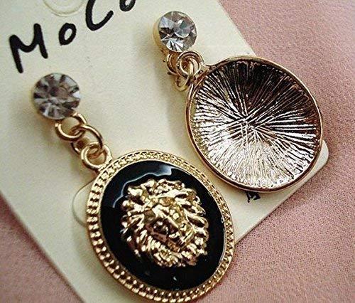 Glitz Diva Collection Shining Stylish Lion Drop and Dangle Earrings for Earrings//Women