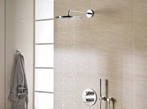 Grohe Grohtherm 2000 Perfect Shower Set.Grohe 34631000 Grohtherm 2000 Concealed Shower System