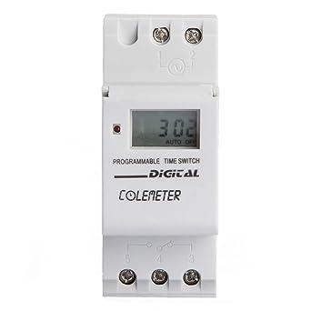 Colemeter Lcd Minuterie Numérique Programmable Timer Relais