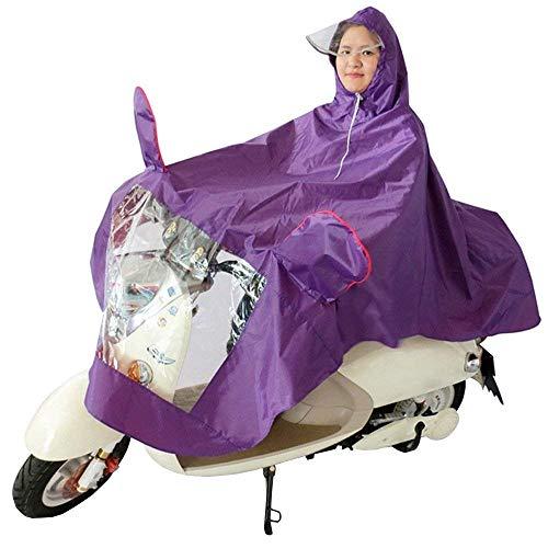 La Voiture Vetement Pluie Violet Électrique Des Basic De Mode Capuche Imperméable Femmes Moto À L'eau OqSIIv