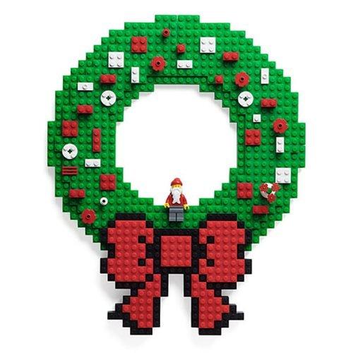 Thinkgeek Build on Brick Holiday Wreath Think Geek 847509010174