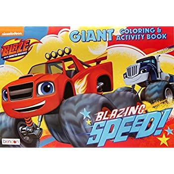 Blaze And The Monster Machines Giant Coloring Activity Book